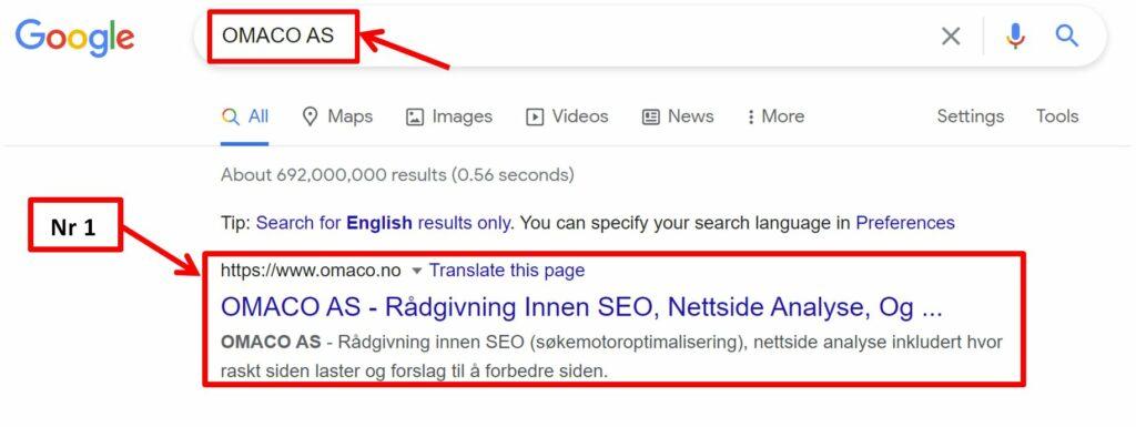 Ranke som nr 1 i Google_Kurs i SEO